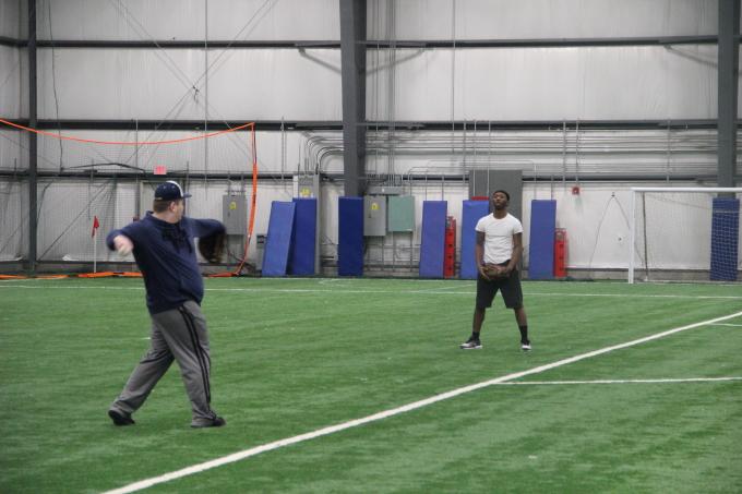 Garfield Hts. Varsity Baseball & Softball — Capps Field House Pics