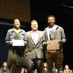 Jackson and Hargrove Win COURAGEOUS STUDENT AWARD