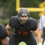 Kastelic Has 10 Tackles in Win For Findlay
