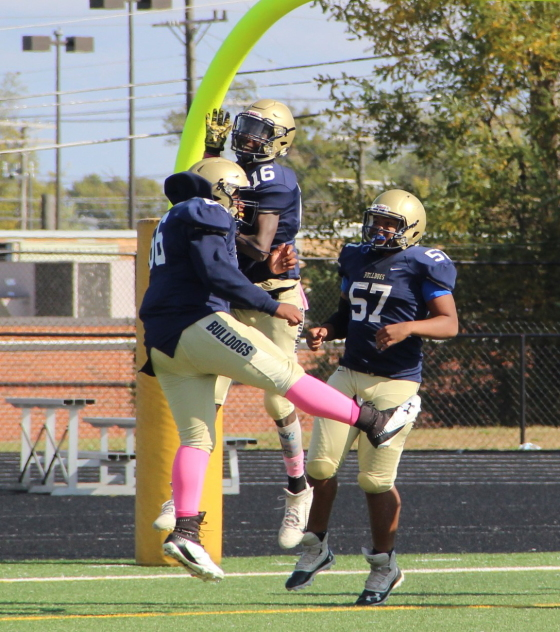 J.V. Football over Valley Forge — Game Pics