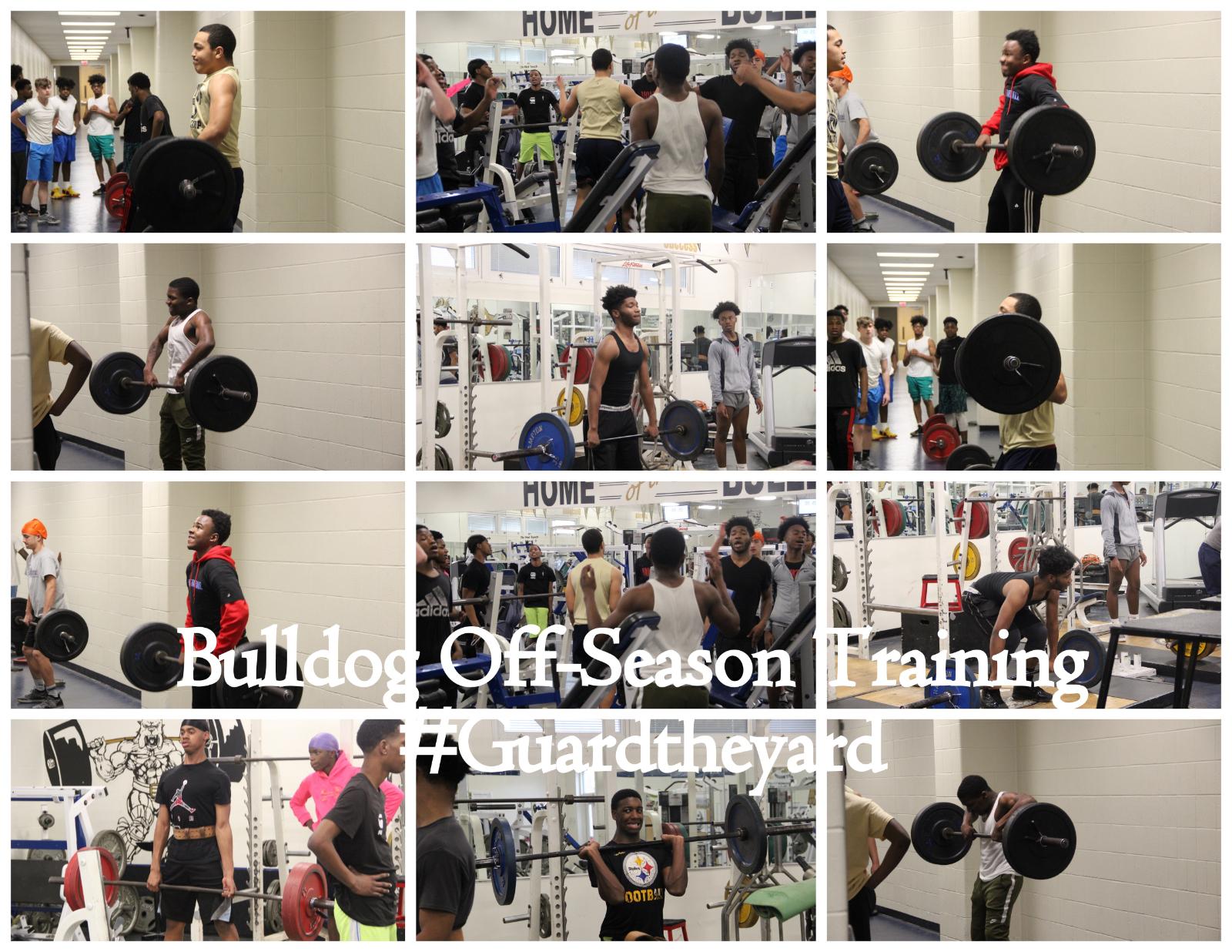 Bulldog Football — Weight Training