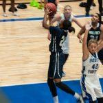 Northview High School Girls Varsity Basketball beat South Forsyth High School 42-31
