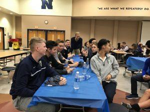 Kickoff Dinner (Varsity Boys) – February 1, 2017