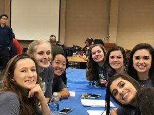 Kickoff Dinner (Varsity Girls) – February 1, 2017