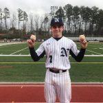 Northview Titans Varsity Baseball pitcher Colton McDaniel throws perfect game