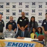 Zane Patel signs to play basketball at Emory!