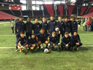 Varsity Boys – Tour of Mercedes Benz Stadium