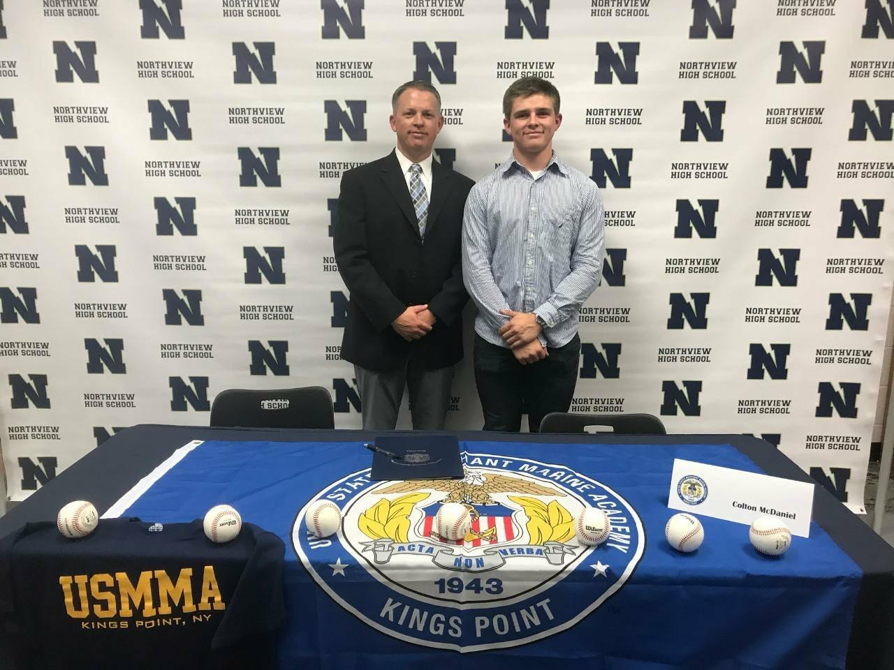 McDaniel Signs To Play Baseball
