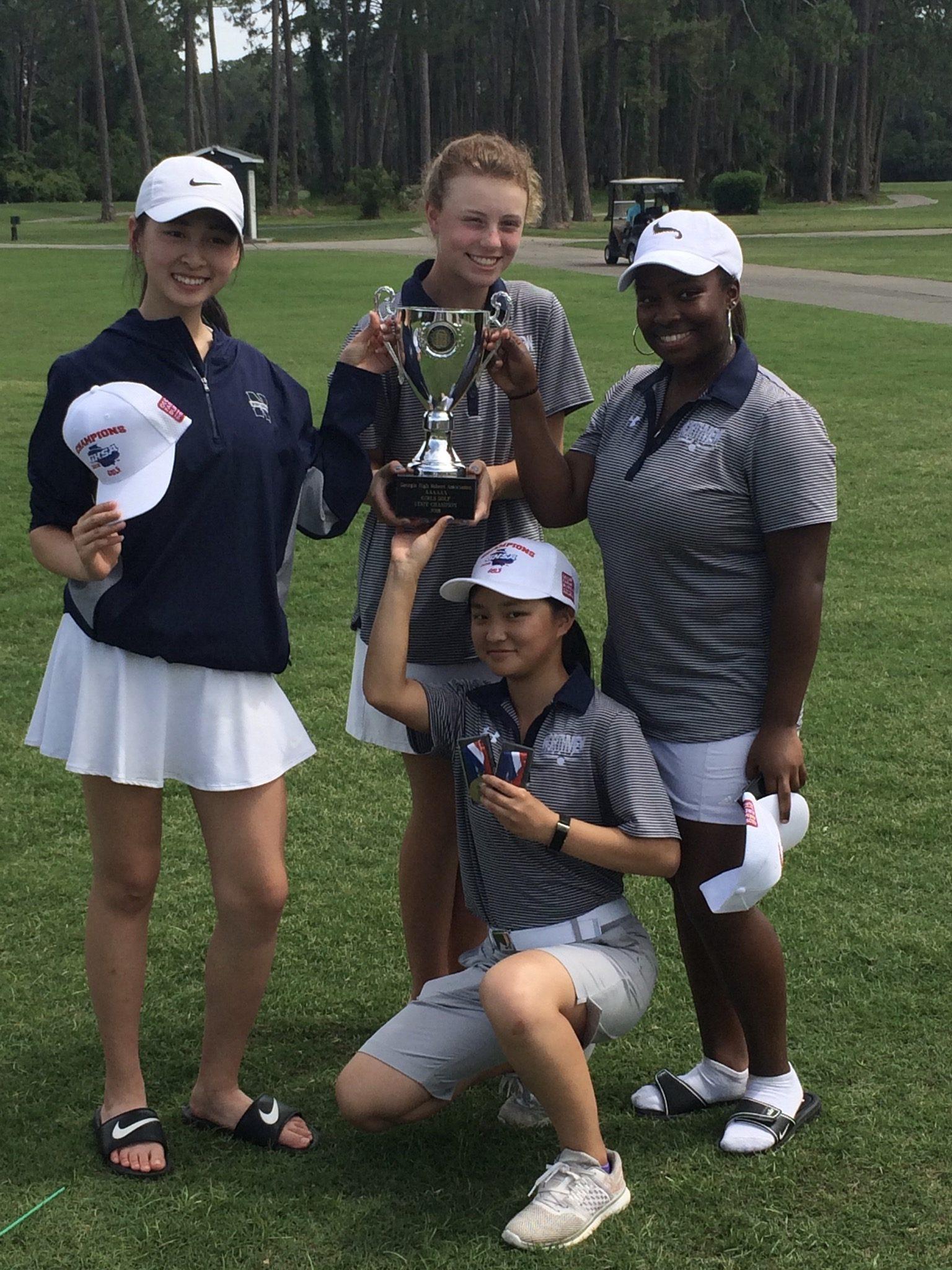 Girls Golf Wins State Championship!!