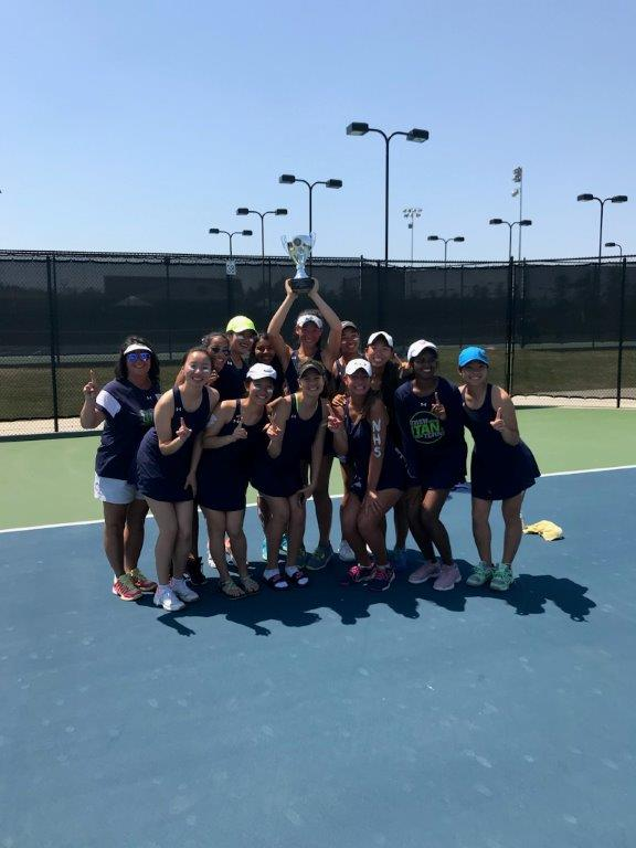 Girls Tennis Are State Champions!!