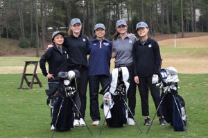 Northview Lady Titan Golfers Tie With johns Creek at Country Club of the South