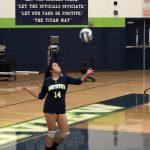 Girls Varsity Volleyball beats Duluth 2 – 0