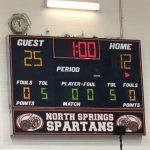 Girls Varsity Volleyball beats North Springs 2 – 0