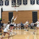 Girls Varsity Volleyball beats North Atlanta 3 – 0