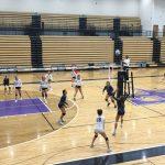 Girls Junior Varsity Volleyball beats East Hall 2 – 0