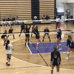 Girls Varsity Volleyball falls to East Hall 2 – 0
