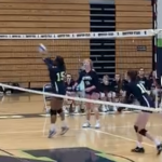 Girls Varsity Volleyball beats Saint Francis 2 – 0