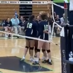 Girls Varsity Volleyball beats North Springs 2 – 1