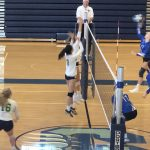 Girls Varsity Volleyball falls to Chattahoochee 2 – 0