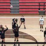 Girls Varsity Volleyball beats Forsyth Central 2 – 1