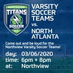 VB ans VG Soccer Teams face North Atlanta in Homepage 3/6