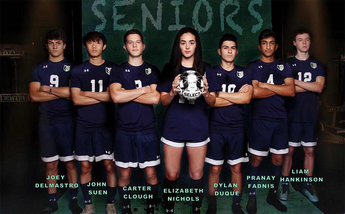 Virtual Soccer Varsity Boys and Girls Senior Walk 2020