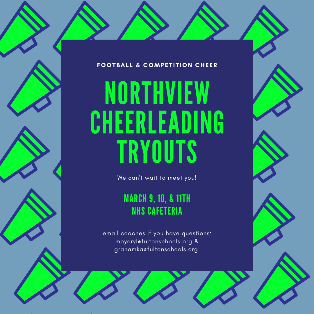Cheerleading Tryouts for 2021-2022