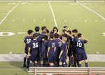JV Soccer Boys fought hard against St. Pius X, but come away with a loss. Score 1:0