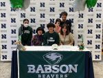 Northview Golfer Signs with Babson College