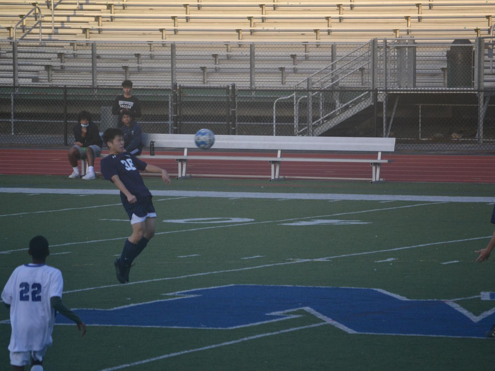 JV Boys win 5:3 against Centennial