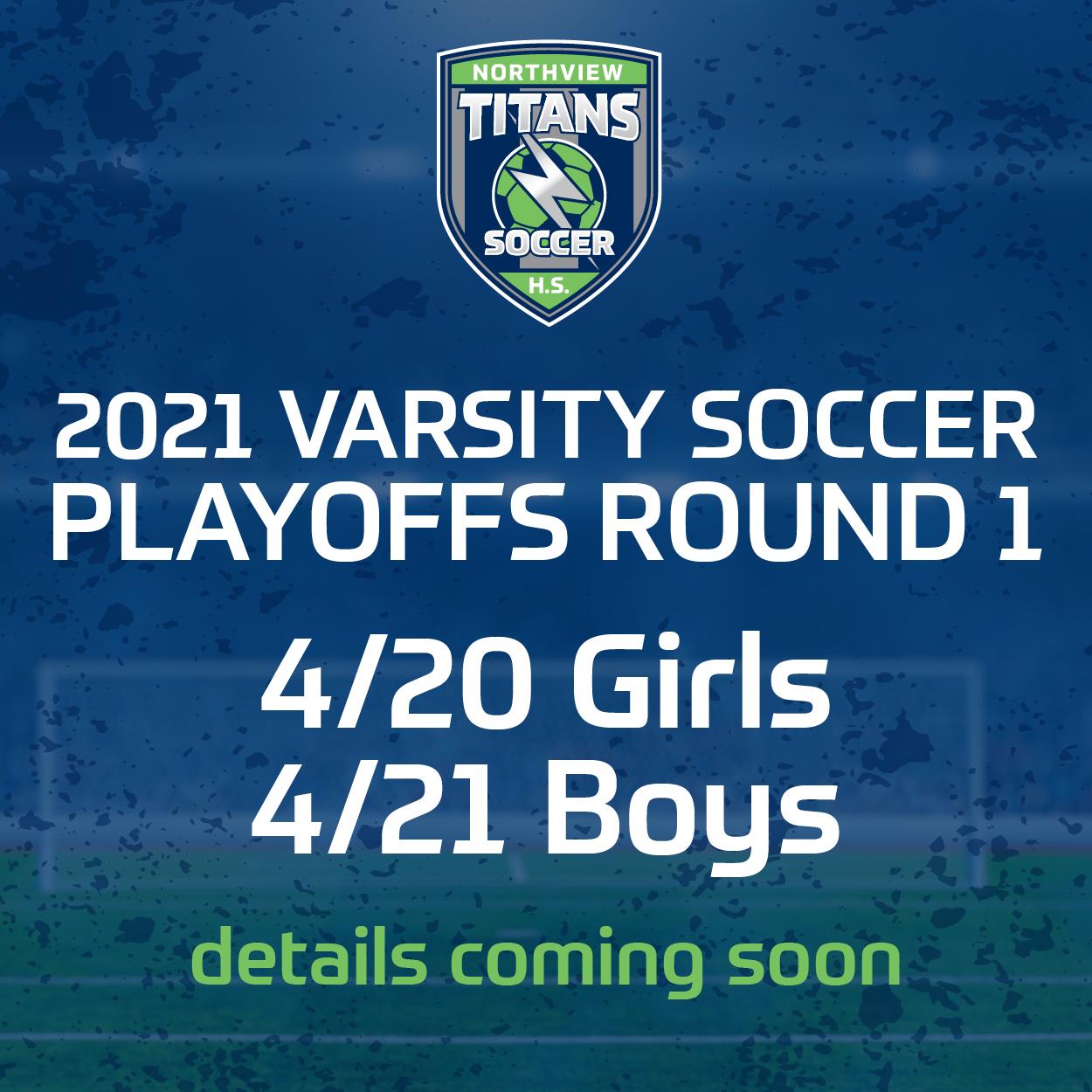 Both Varsity Soccer Teams Qualify for Playoffs!