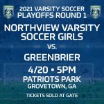 4/20 – Playoffs Round 1 for our Varsity Girls!