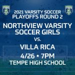 Playoffs Round 2 for our Lady Titans – Monday 4/26