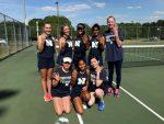 Girls Tennis Advance to Final 4