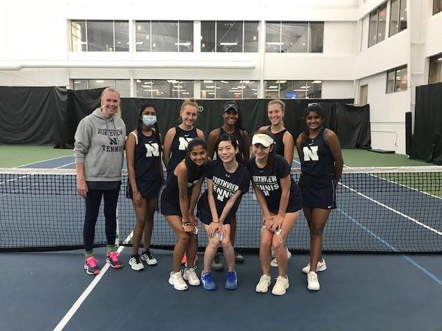 Girls Tennis Advance to State Finals