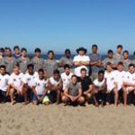 Boys Soccer Team Building!