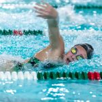 Girls Varsity Swimming beats Canby 106 – 64