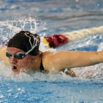 Girls Varsity Swimming falls to St. Mary's Academy 106 – 64