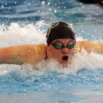 Girls Varsity Swimming falls to Lake Oswego 98 – 72