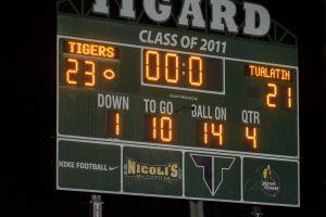 Varsity Football vs Tualatin