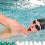 Boys Varsity Swimming beats Oregon City 85 – 83