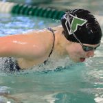 Girls Varsity Swimming falls to St. Mary's Academy 89 – 81