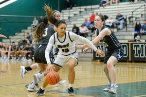 Varsity Girls Basketball vs St. Mary's – photos by Chris Germano