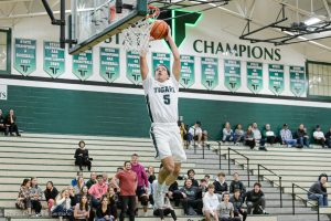Varsity Boys BB vs Lakeridge photos by Chris Germano