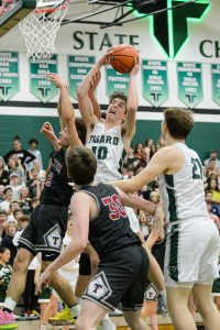 Boys Basketball vs Tualatin photos by Chris Germano