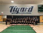 Tigerette's first competition in new gym!