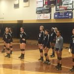 Seneca High School Girls Varsity Volleyball falls to D W Daniel High School 3-0