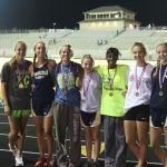 Girls Cross Country Claims Region Championship