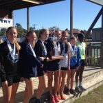 State Cross Country Meet- Girls Finish Record Setting Season as Runners Up