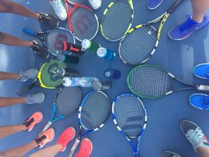 Fun at the Tennis Courts